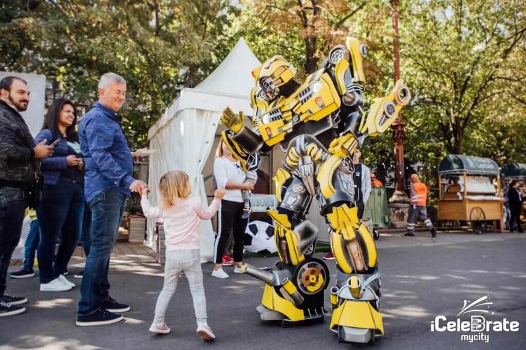 Robotul BumbleBee in Romania